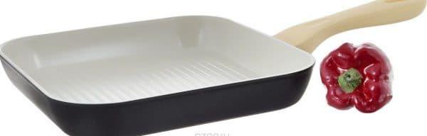 сковороды гриль из керамики