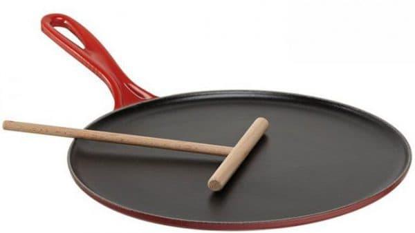 блинная сковорода для индукционной плиты LE CREUSET