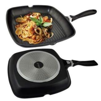 чугунная сковорода для индукционных плит