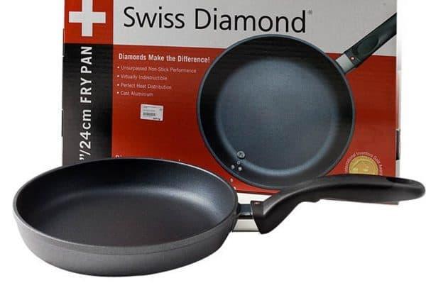 сковорода с антипригарным покрытием Swiss Diamond