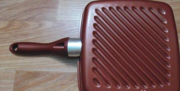 сковорода гриль с керамическим покрытием Winner