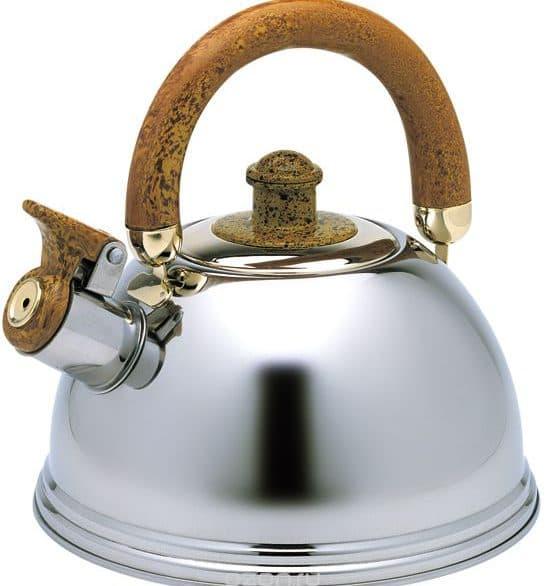 чайник со свистком для газовой плиты Wellberg 2086865