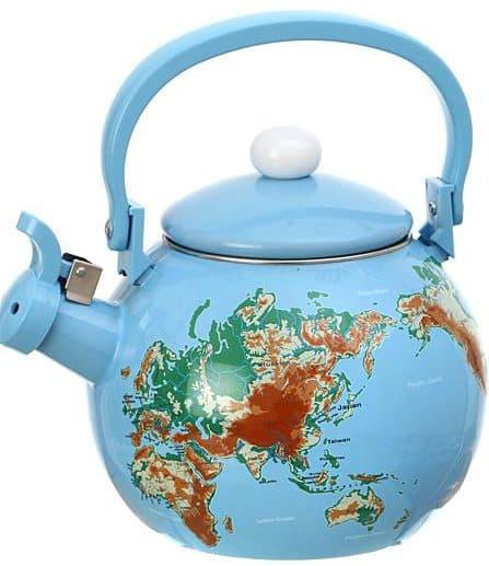 чайник керамический со свистком для газовой плиты