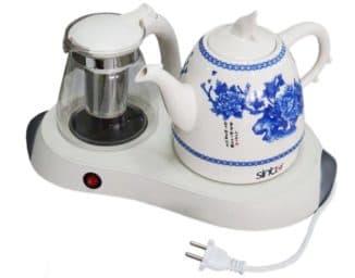 керамические электрические чайники на кухне