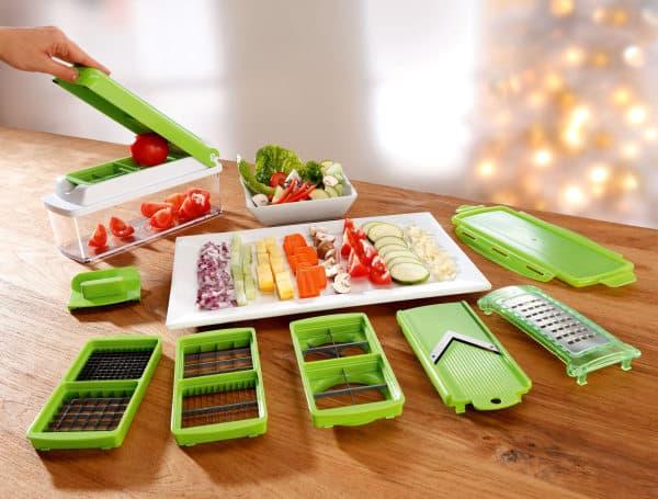 Виды ручных механических овощерезок || Овощерезка ручная и ножи для овощей