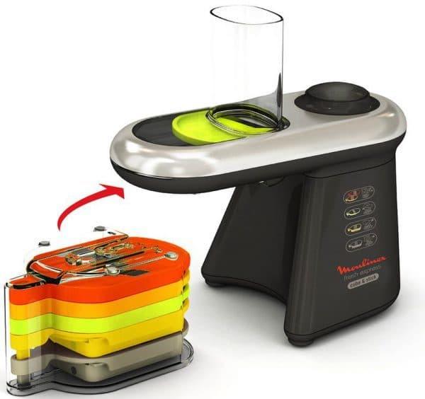 электрошинковка для капусты Moulinex Fresh Express Cube S s Stick