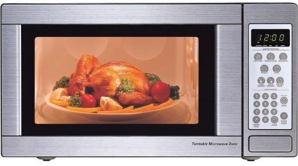 обычная микровалновая печь используется чаще всего