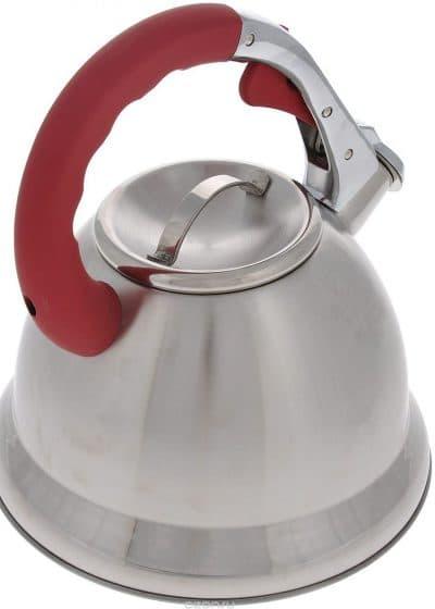 чайник алюминиевый со свистком для газовой плиты