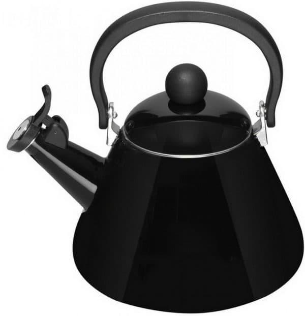 чайник чугунный со свистком для газовой плиты