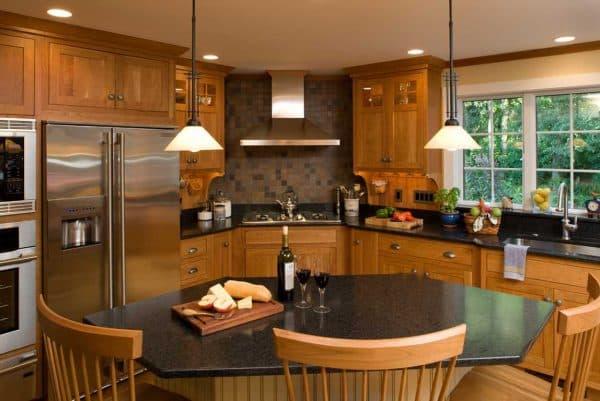 кухонный гарнитур для большой кухни