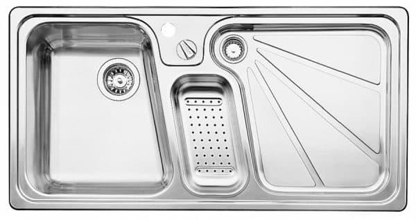 мойка для кухни из нержавейки штамповки