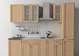 встроенный кухонный гарнитур