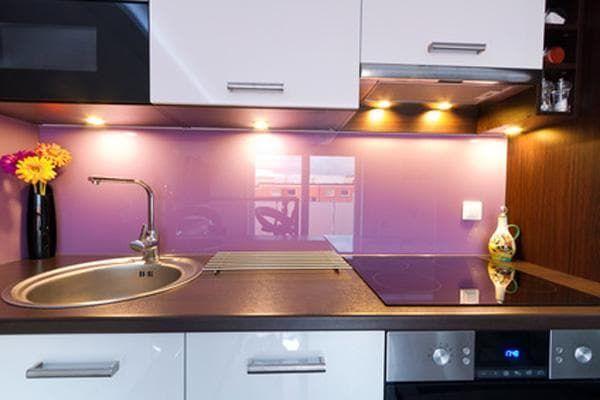 врезная Led подсветка кухонного гарнитура