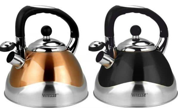 чайник со свистком для газовой плиты Vitesse Hailey VS-1120