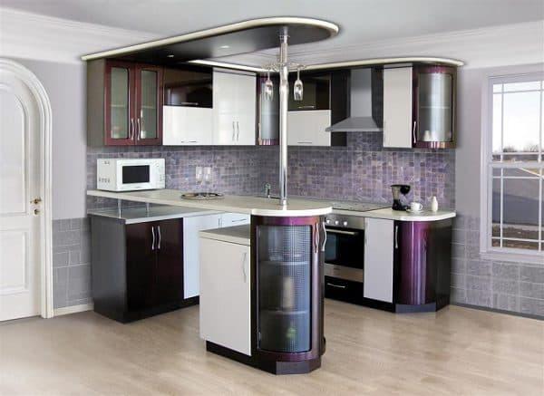 барная стойка на кухне Фабрика Рубикон М