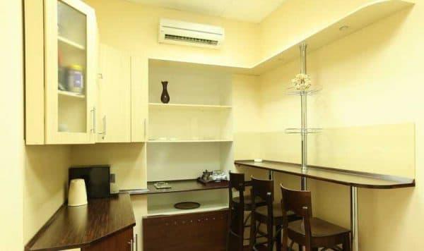 барная стойка на кухне Кухни-НСК