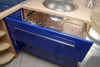 практичная ручка рейлинг для кухонной мебели