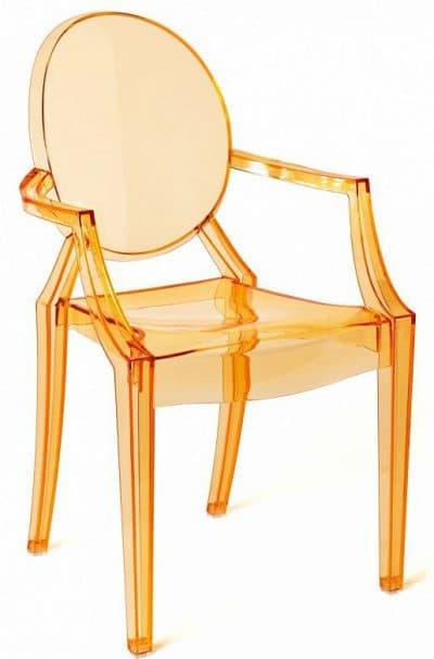прозрачный стул для кухни ghost