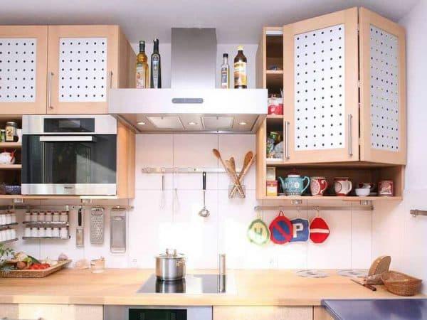 навесные шкафчики для кухни
