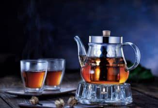 заварочный чайник с подогревом