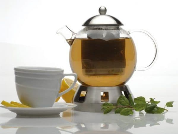 заварочный чайник с подогревом от свечи