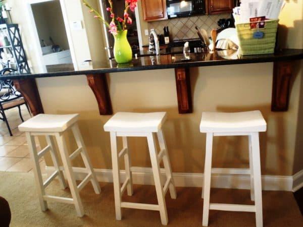 высокие стулья для кухни IKEA