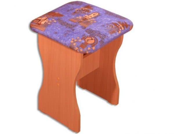 табуретки МДФ для кухни с мягким сиденьем