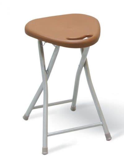 треугольный табурет для кухни с мягким сиденьем