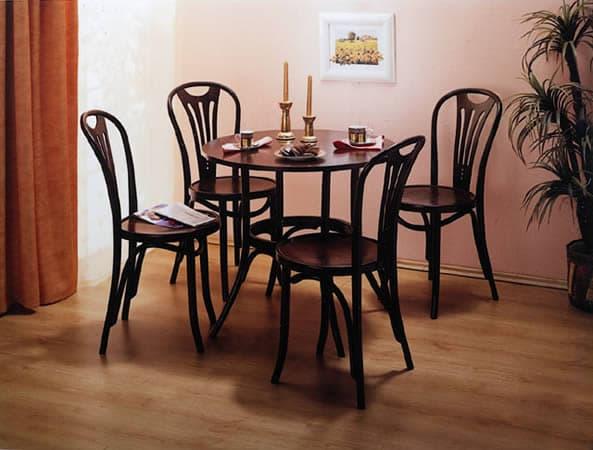 стильный гнутый венский стул для кухни