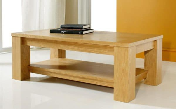 журнальный стол из массива дерева
