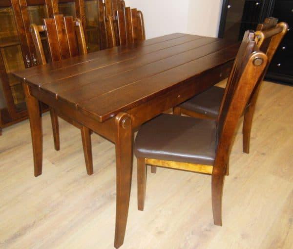 обеденный стол из массива берёзыобеденный стол из массива берёзы
