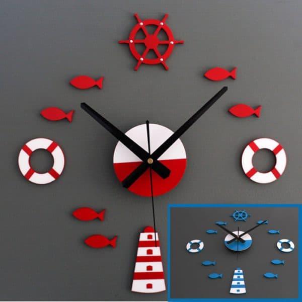 кухонные настенные часы хай-тек