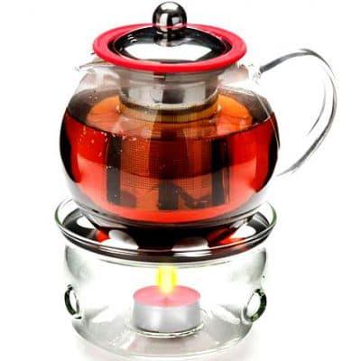заварочный чайник с подогревом от свечи Mayer Boch