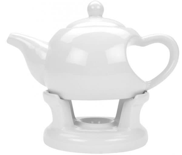 заварочный чайник с подогревом от свечи Oasis
