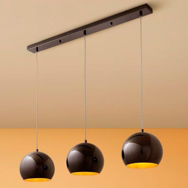 подвесные люстры на кухню
