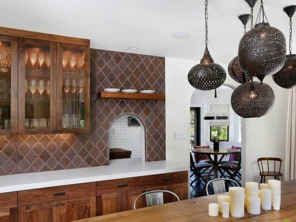 люстры на кухню серебристого цвета