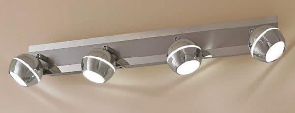 накладной светильник с поворотным механизмом для кухни