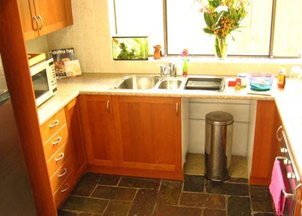 сочетание цветов в интерьере кухни: теплая гамма