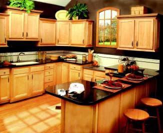 Сочетание цветов для интерьеров кухни: однотонные