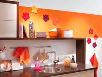 чем отделать стены в кухне: пластиковые панели