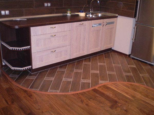 ремонт кухни с чего начать: пол