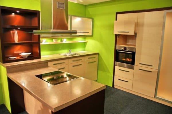 чем отделать стены кухни: покраска