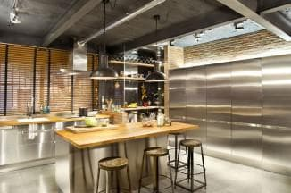 ремонт кухни в стиле лофт