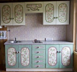 реставраци кухонной мебели