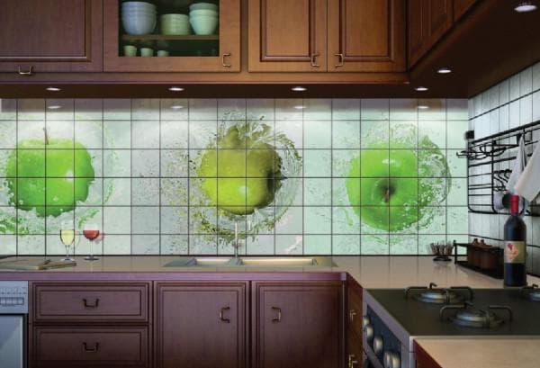 панно на кухню
