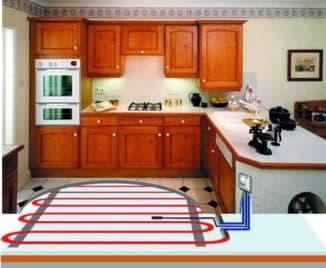 теплый электрический пол для кухни