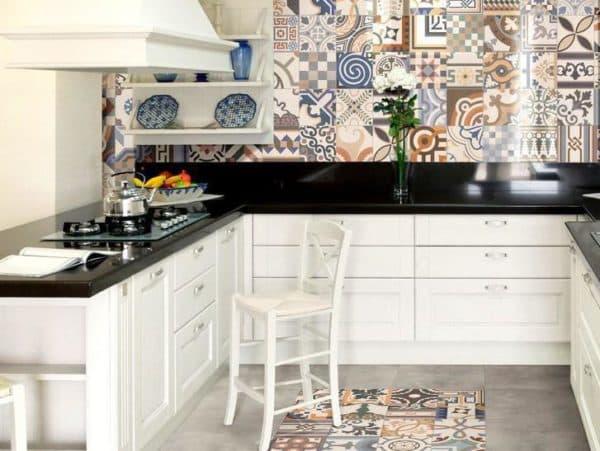 керамическое панно на кухню