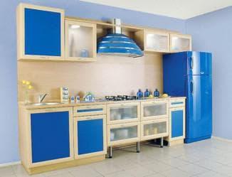 цвет кухни в интерьере