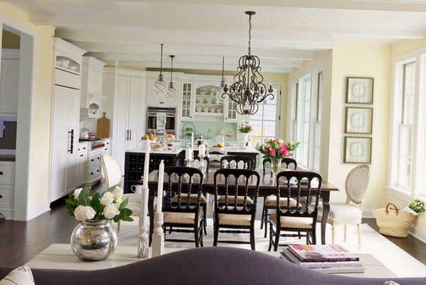 стиль прованс в интерьере кухне
