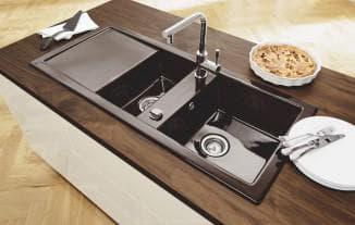 каменная мойка для кухни